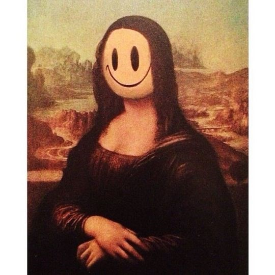Banksy, Mona Lisa Smile