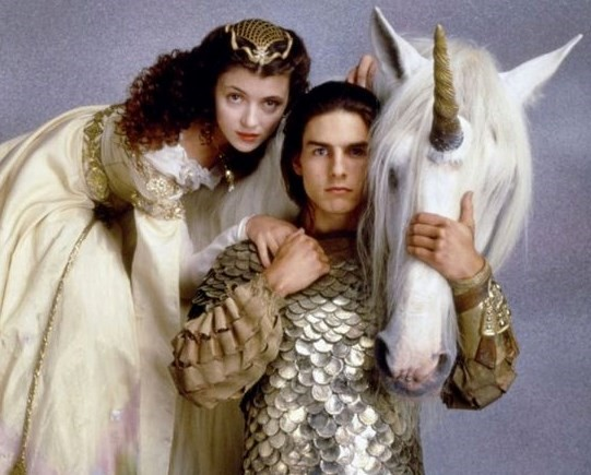 Tom Cruise and unicorn