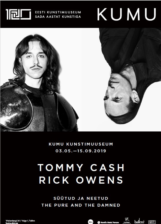 Rick Owens Tommy Cash exhibition Estonia