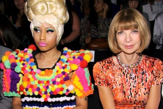 nicki and anna wintour