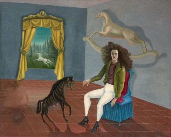 "LEONORA Carrington ""Self Portrait"", 1938"