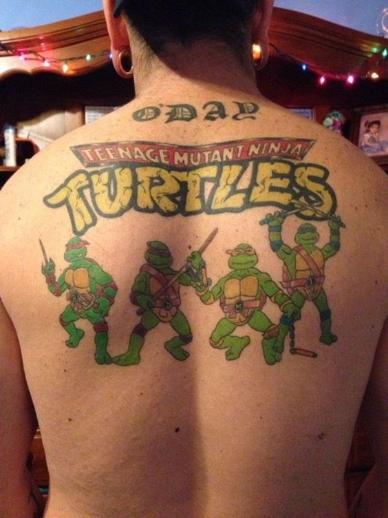 Aliens in Argentina and Ninja Turtles in America: top global tattoo trends