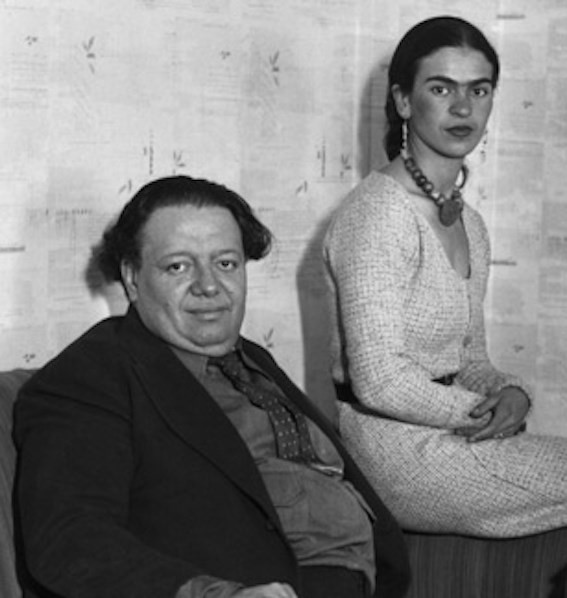 Diego Rivera and Frida Kahlo, first voice recording