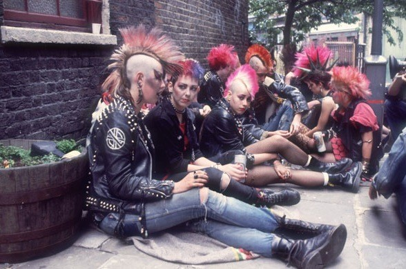 Punks, 1980s, Dazed Digital