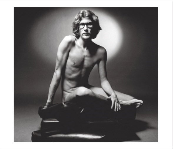 Yves Saint Laurent in 1971