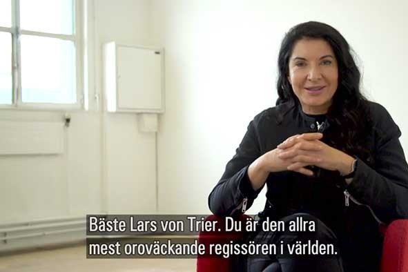 Marina Abramovic wants to team up with Lars von Trier