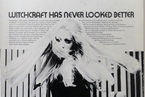 Looking back at a time where major labels were releasing witchcraft
