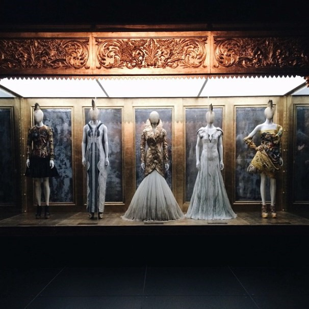 Empty Savage Beauty Instagram McQueen Victoria Albert museum