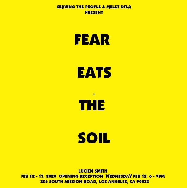 Fear Eats The Soil