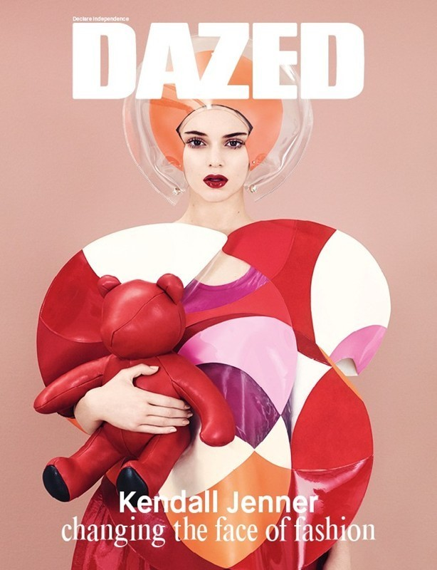 Kendall Jenner alternative Winter 2014 cover