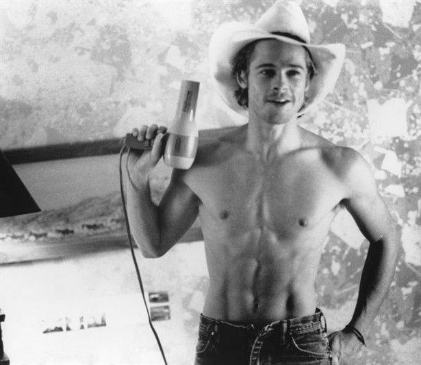 Brad Pitt as JD in Thelma and Louise