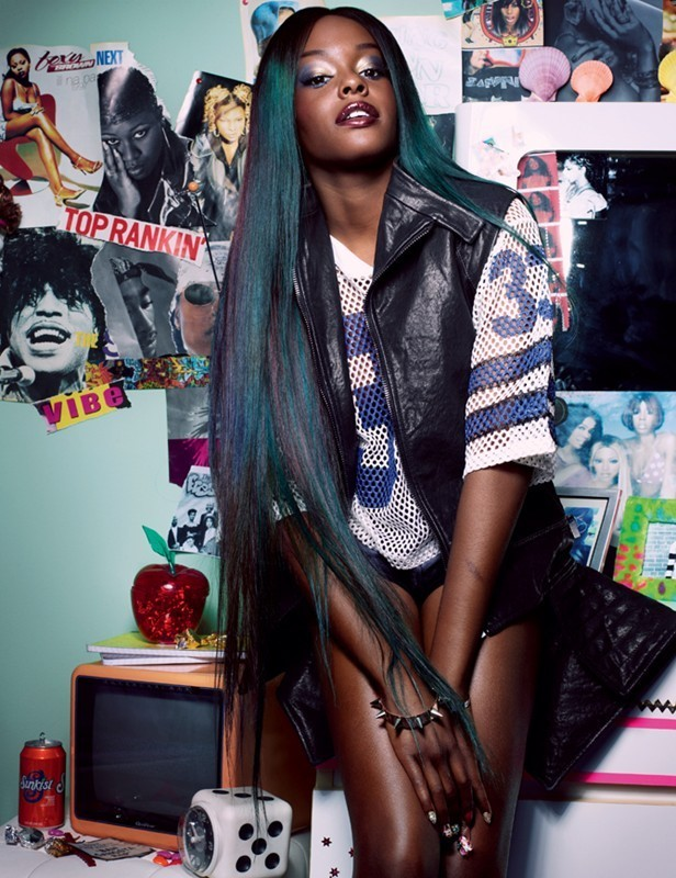 Azealia Banks Dazed