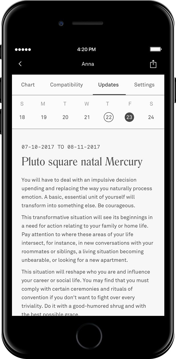 The new AI-powered astrology app that matches you using the stars