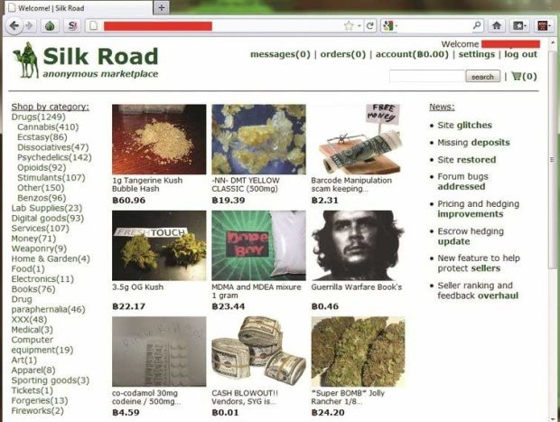 Silk Road 2.0 homepage