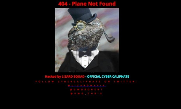 Lizard Squad Malaysia Airlines