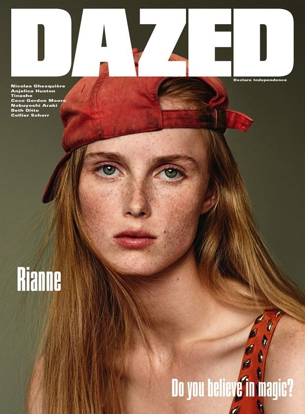 Rianne van Rompaey for the Winter 2015 issue of Dazed