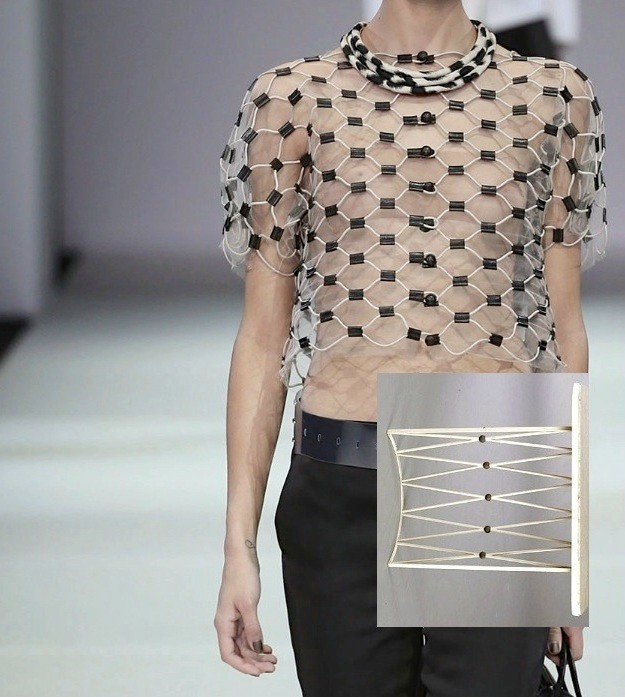 Deconstructing Milan Fashion Week SS15, Giorgio Armani