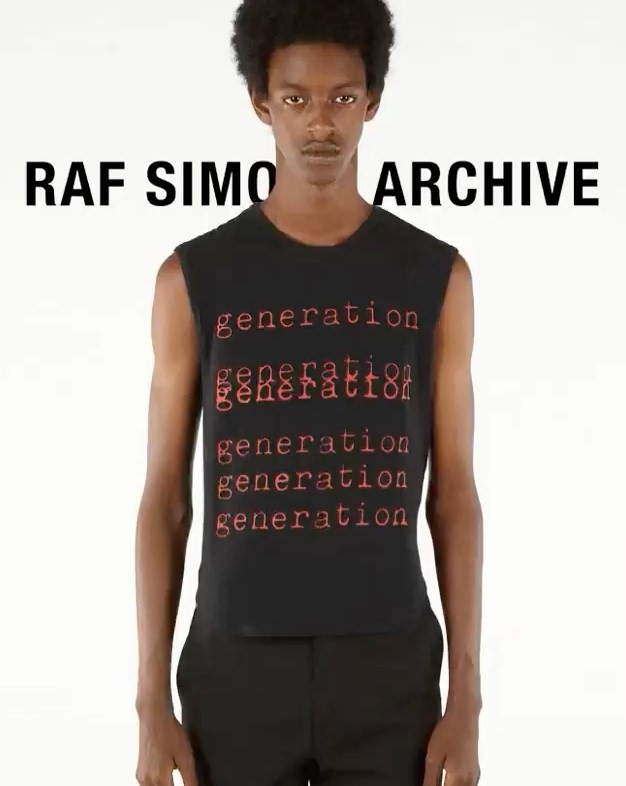 A new Raf Simons archive redux is coming