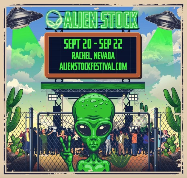 What to expect from the 'storm Area 51' guy's Alienstock festival