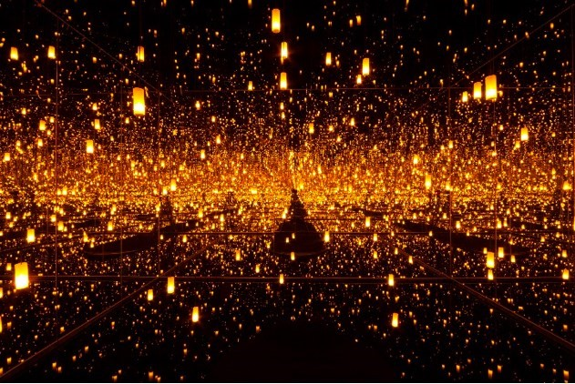 kusama aftermath of obliteration of eternity infinity room