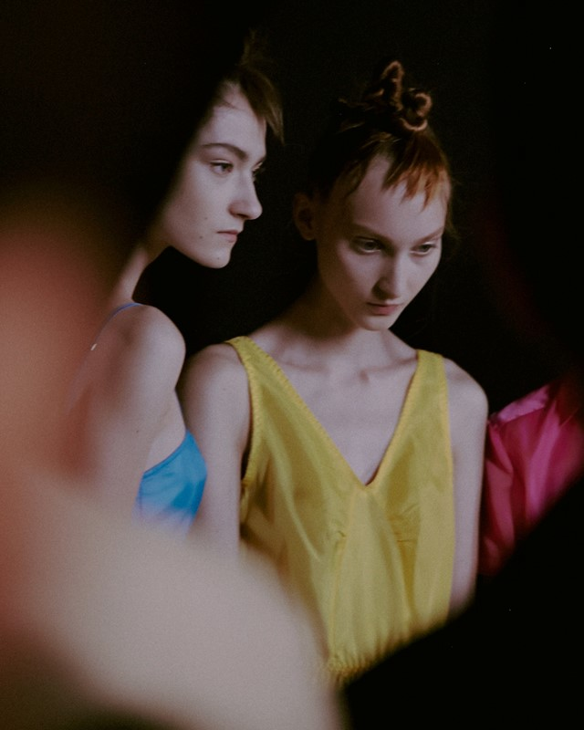 Backstage at Marc by Marc Jacobs SS15 Dazed