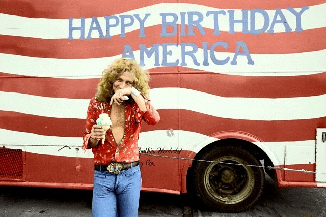 Top 10 70s icons Robert Plant