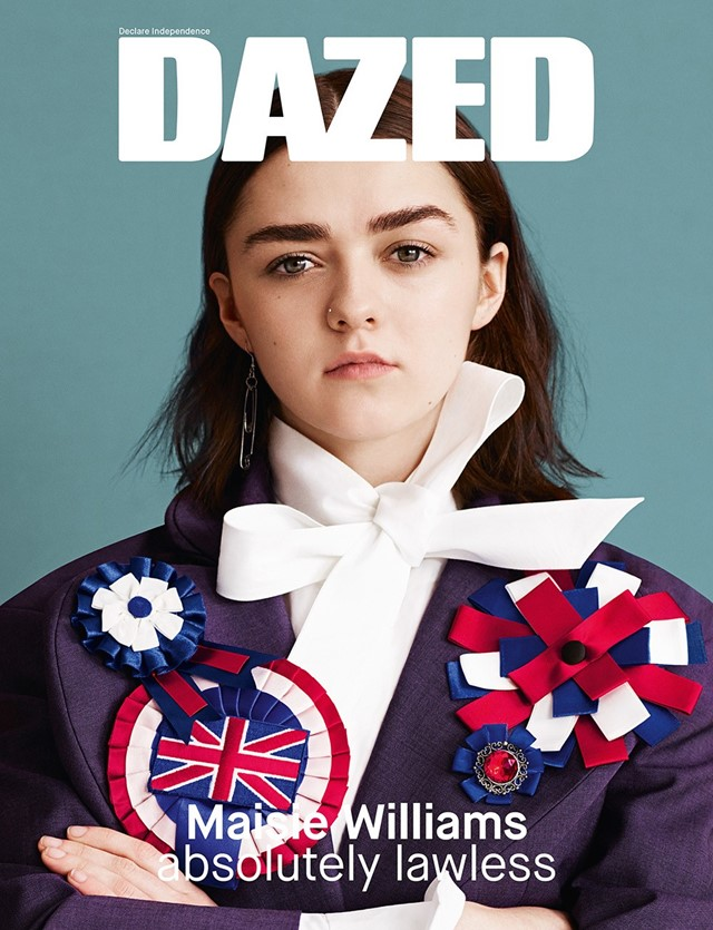 Maisie Williams Dazed and Confused