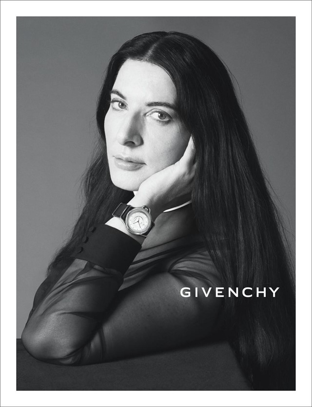 Marina Abramovic for Givenchy New York Womenswear