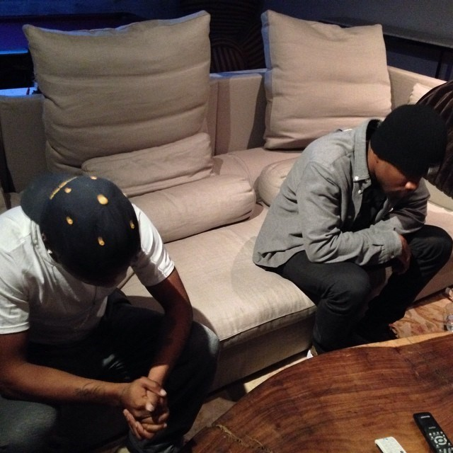 Lil B and Frank Ocean