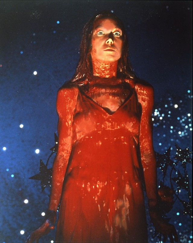 Carrie (1976) cult style with Sissy Spacek