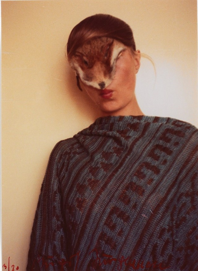 """Untitled (Self with Little Fur)"",1974/77,Birgit Jürgenssen"