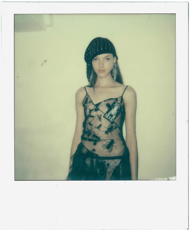 Ashley Williams SS16 instant film, Dazed Digital