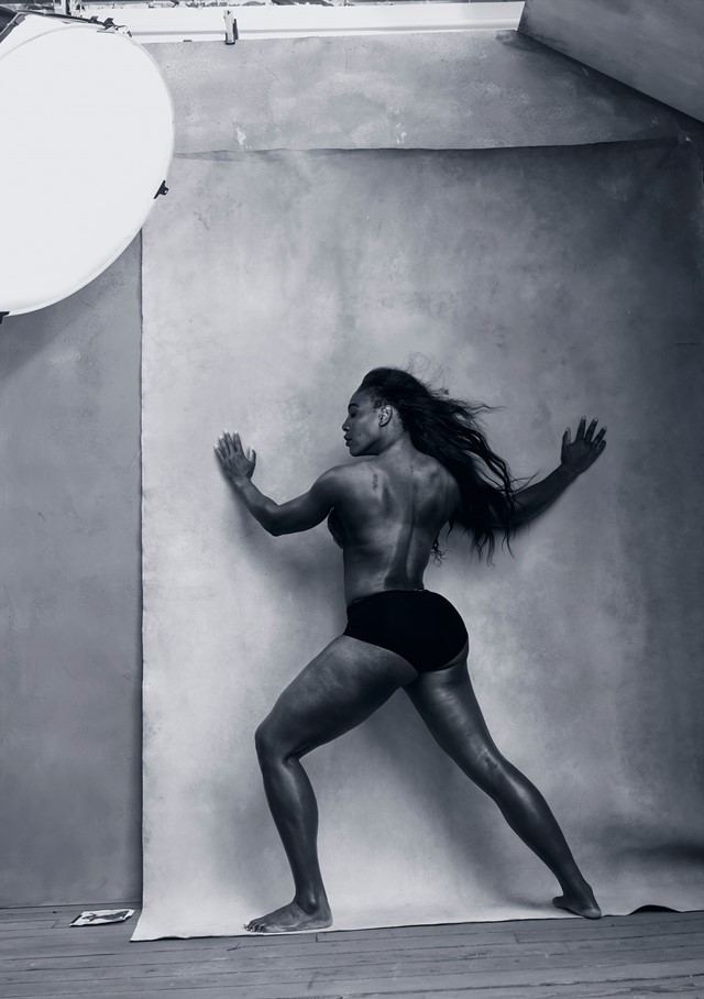 Pirelli Calendar 2016 - April - SERENA WILLIAMS Pi