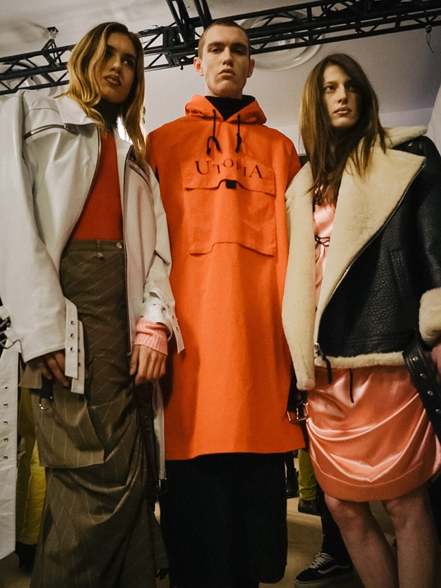 Backstage at VFiles AW16 Anton Belinskiy New York