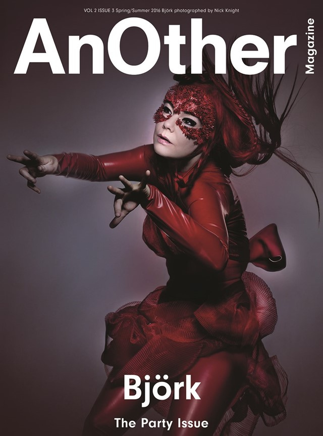 Björk for AnOther S/S16 Nick Knight Katy England