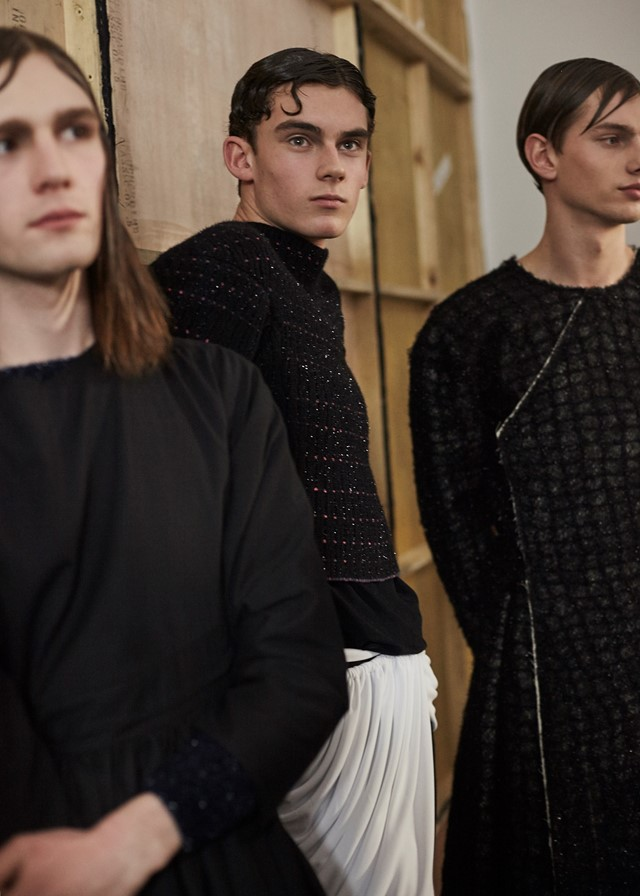Harry Evans at Central Saint Martins MA AW16