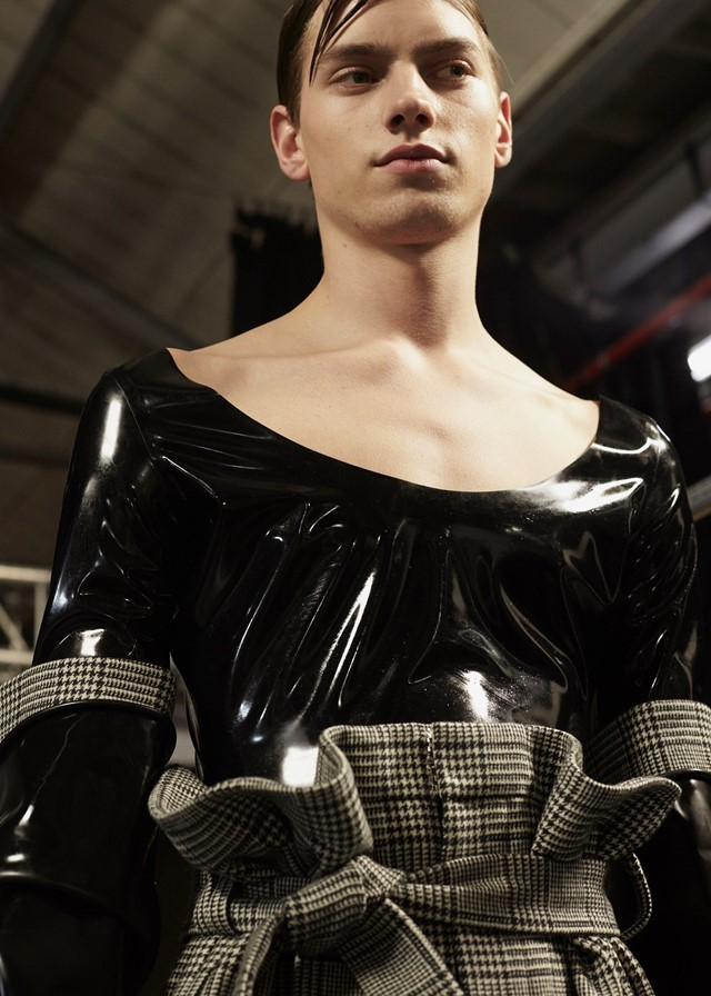 Abzal Issa Bekov at Central Saint Martins MA AW16