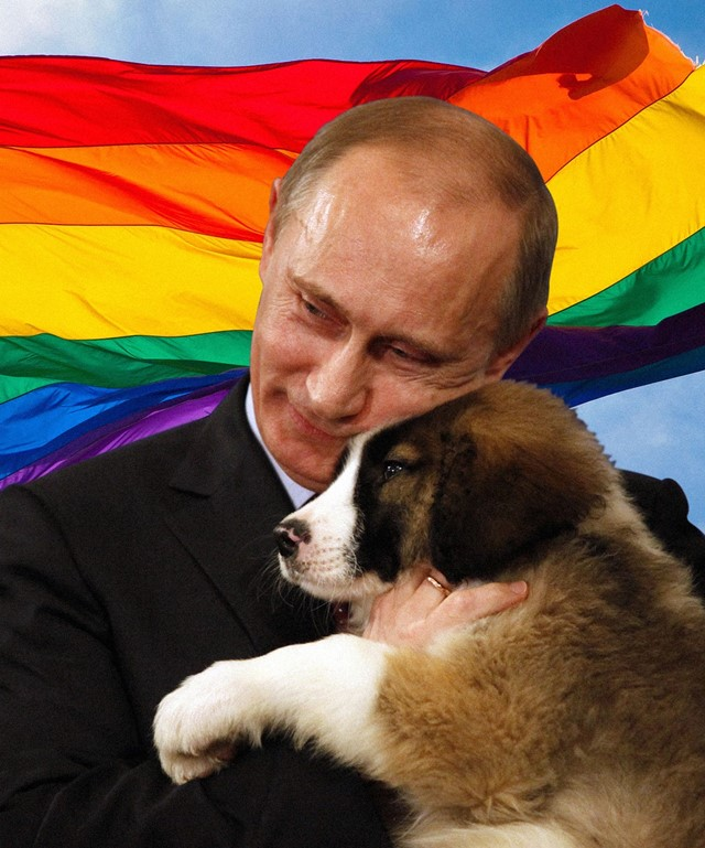 Russia wants to treat gay people like paedophiles