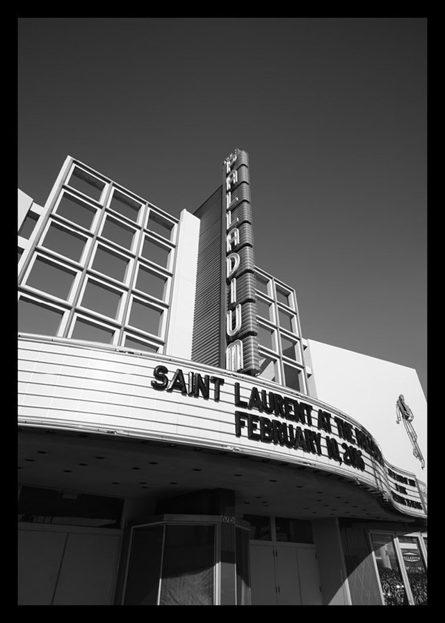 The Hollywood Palladium Saint Laurent