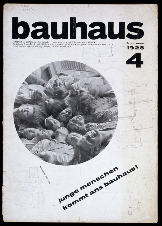 Bauhaus Bauhaus Magazine 2:4, October 1928