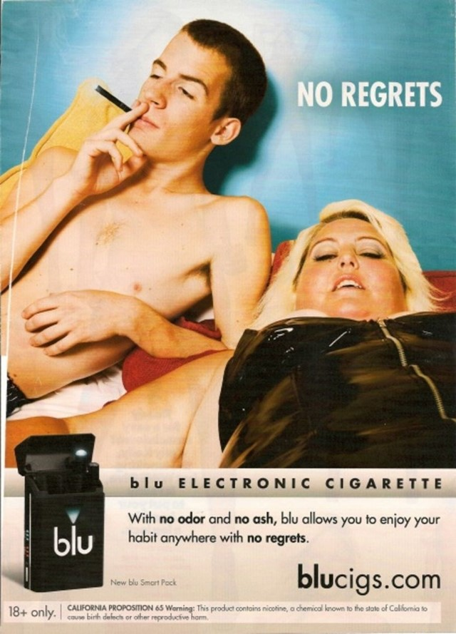Blucigs ad fat-shaming