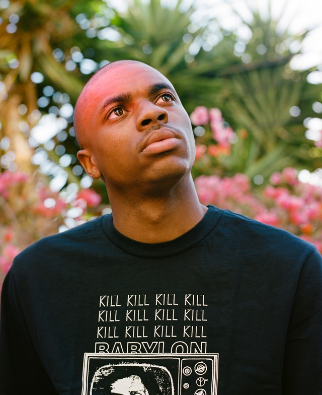 Vince Staples, photographed by Tyler Mitchell for Dazed