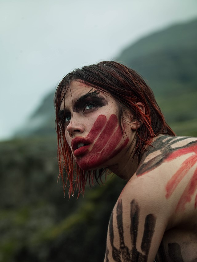 Iceland Isamaya Ffrench Josh Wilks Nick Royal makeup fashion