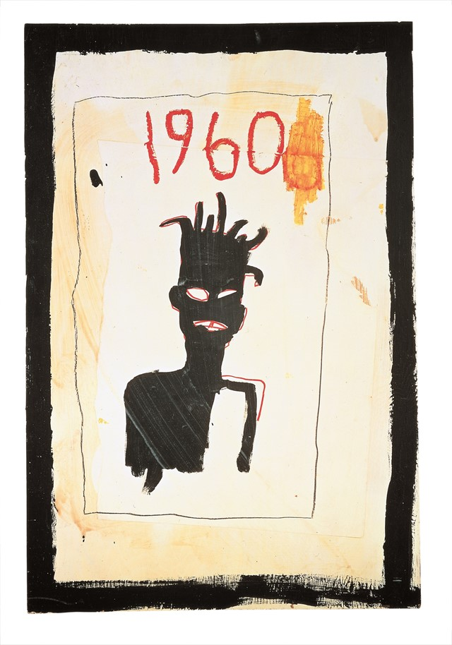 Jean-Michel Basquiat Untitled (1960), 1983