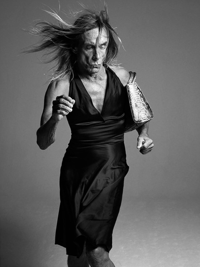 Iggy Pop for The New York Times' T Magazine, 2011