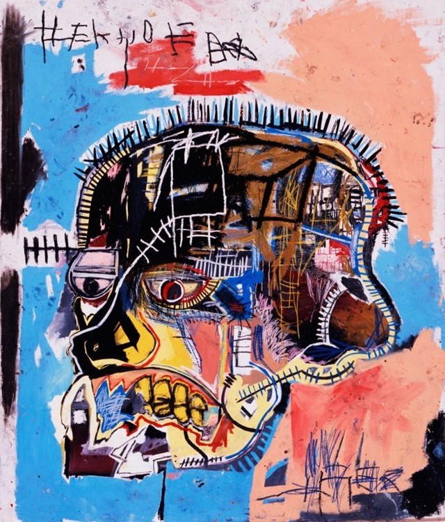 Jean-Michel Basquiat, Untitled (Head), 1981
