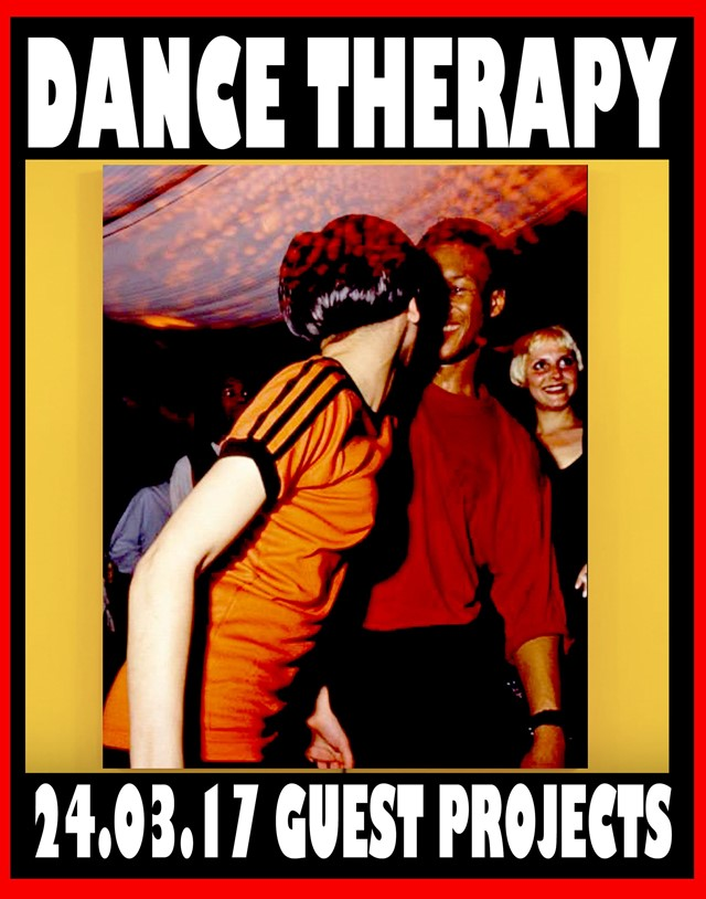 """A poster for Lotte Anderson's """"Dance Therapy"""""""