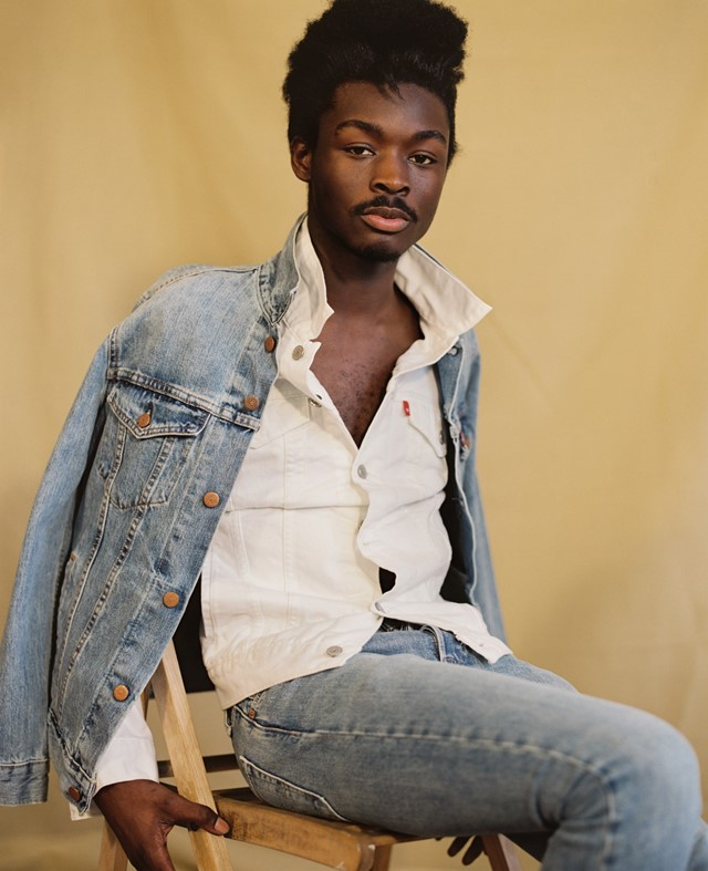 Campbell Addy for Levi's 501 Skinny Dazed