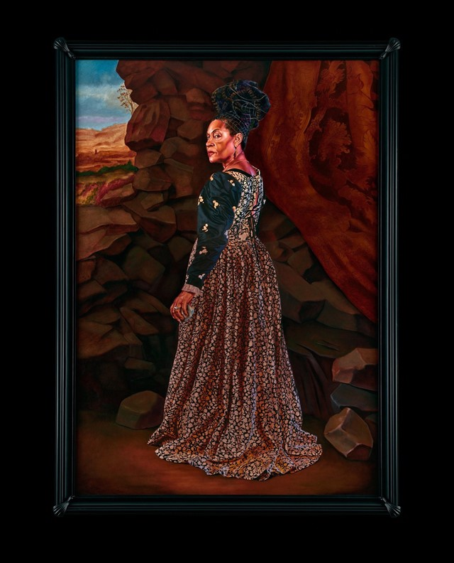 Kehinde Wiley's Trickster