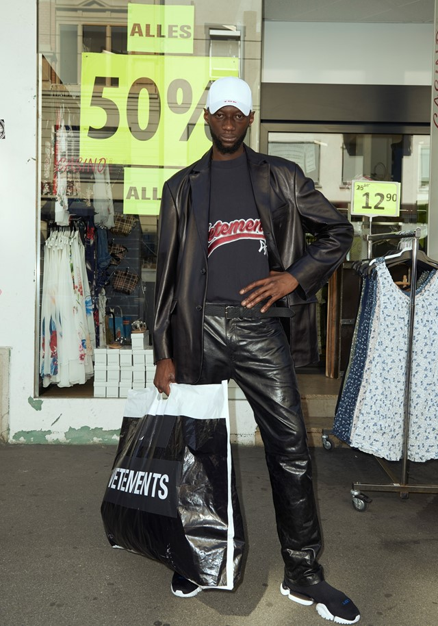 Vetements SS18 collection paris